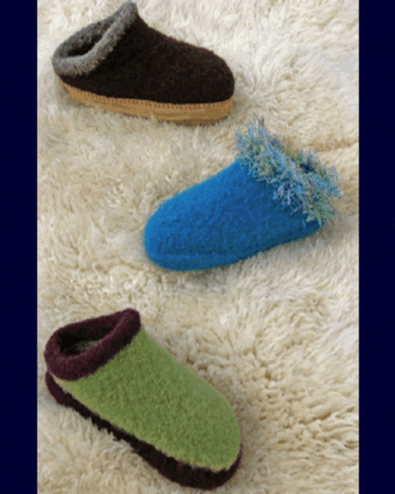 Fibre Trends AC33 Felt Clogs