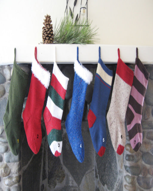 Knitting Pure & Simple 277 Easy Christmas Stocking