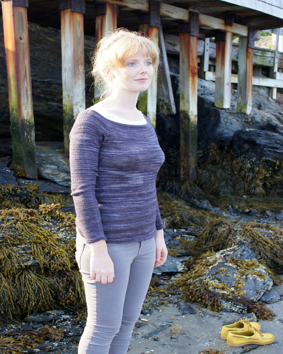KNITBOT - SOCK YARN SWEATER - Adult