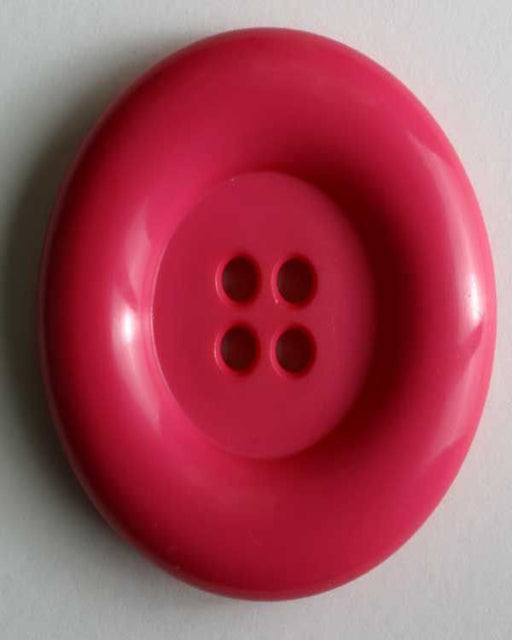 Button - Large  28mm- 4 Hole - Pink