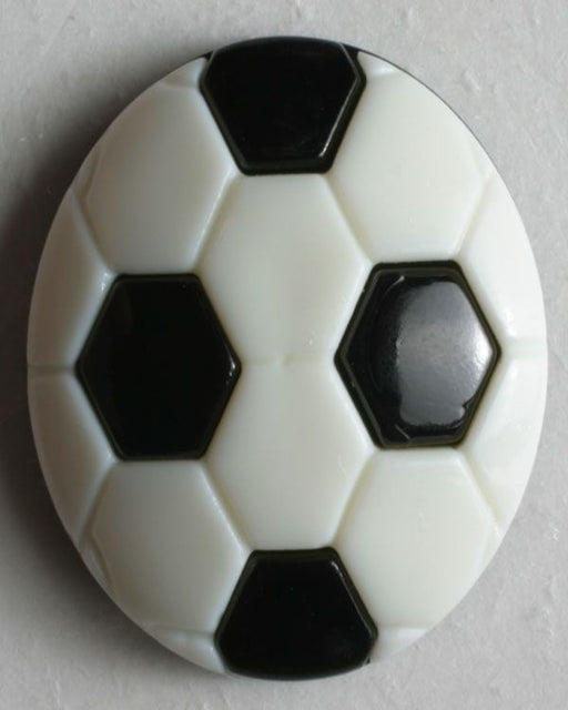 Button - Cutes  13mm - soccer ball