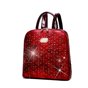 Women's Sparkle of Hearts Backpack