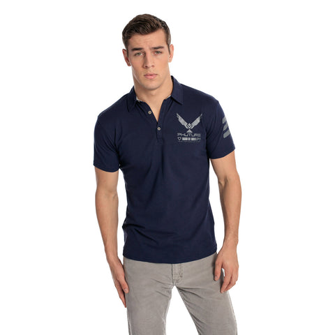 Lunar Blue Men's  POLO