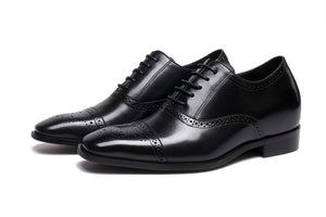 OOFY TALL Height Increase Men's Elevator Shoes Leather