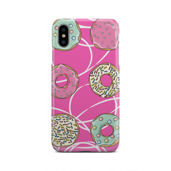 Mmm Donuts Phone Case (iPhone & Samsung, 22+ Models)