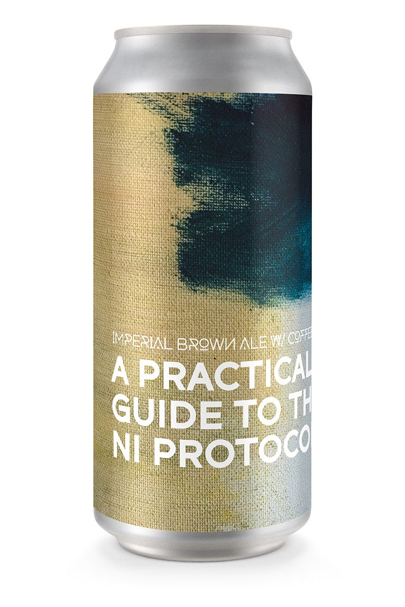 A PRACTICAL GUIDE TO NI PROTOCOL | Imperial Brown Ale with Coffee x Root & Branch (4-pack)