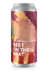 BEET ON THE BRAT | Berliner Weisse  (4-pack)