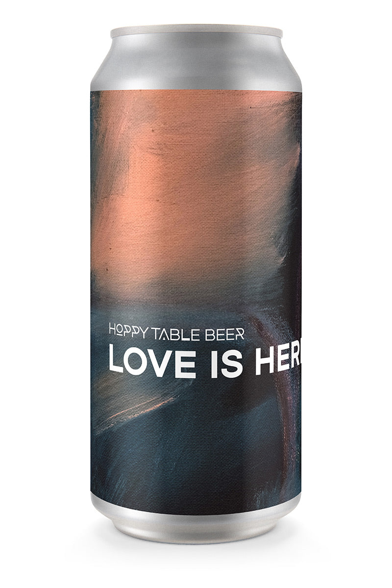 LOVE IS HERE | Hoppy Table Beer (4-pack)