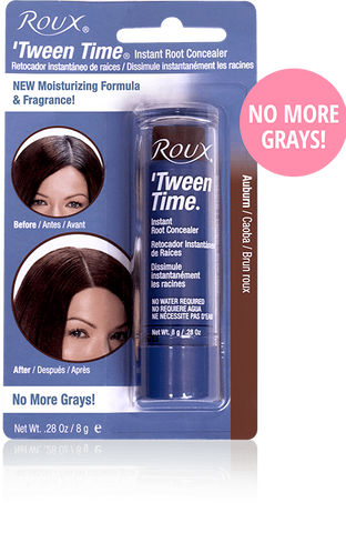 Roux Tween Time Touch Up Hair Colour Crayons Auburn 10g
