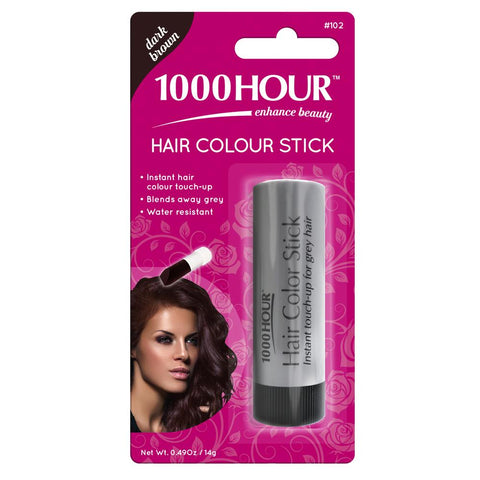 1000 Hour Hair Colour Stick - Dark Brown