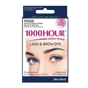 1000 Hour Eyelash & Brow Dye Kit - Blue/Black