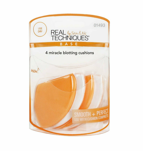 #1493 Real Techniques 4 Miracle Blotting Cushions