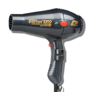 Parlux 3200 Ionic & Ceramic Compact Hair Dryer - Charcoal