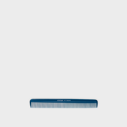 Blue Celcon Styling Comb 407- 21.5 cm