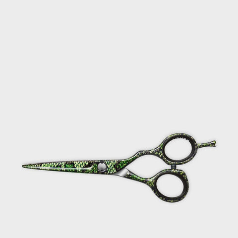 JAGUAR Diamond E Green Mamba Offset Scissors 5.5 Inch