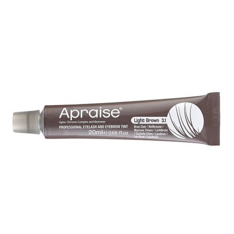 Apraise Lash & Brow Tint- 3.1 Light Brown 20ml