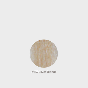 Grace Remy 2 Clip Weft Hair Extension - #613 Silver Blonde