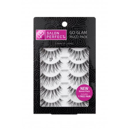 Salon Perfect Strip Lashes- 614 4pk+1FREE