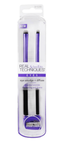 #91530 Real Techniques Eye Smudge & Diffuse Twin Pack