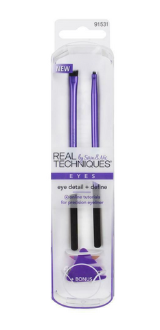 #91531 Real Techniques Eye Detail & Define Twin Pack