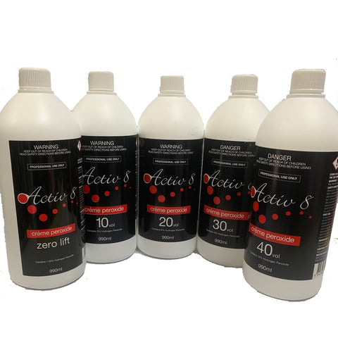 Activ8 Creme Peroxide - 6% - 20 Vol - 990ml