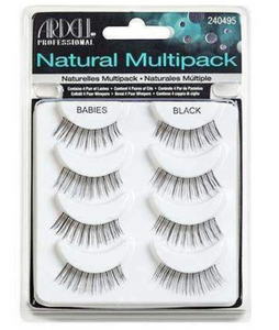 Ardell Natural Babies Lashes - Black - 6 Pack