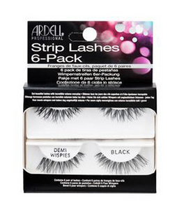 Ardell Natural Demi Wispies Black - 6 Pack