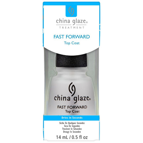 China Glaze Fast Forward Top Coat 14ml