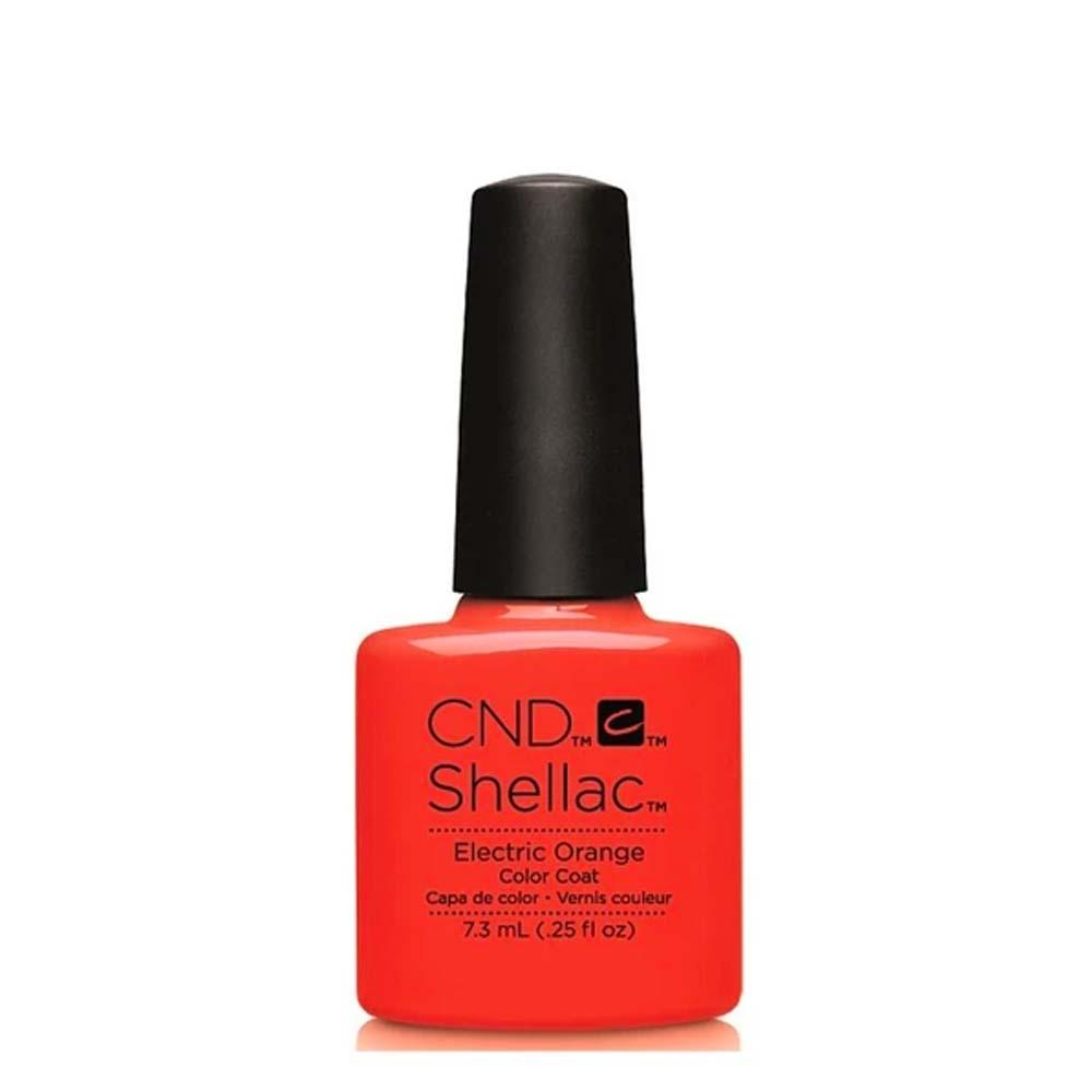 CND Shellac Gel Polish 7.3ml - Electric Orange