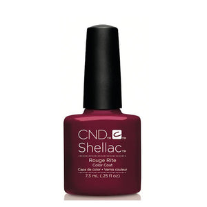 CND Shellac Gel Polish 7.3ml - Rouge Rite