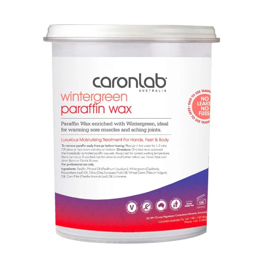 Caronlab Parrafin Wax Wintergreen 800ml