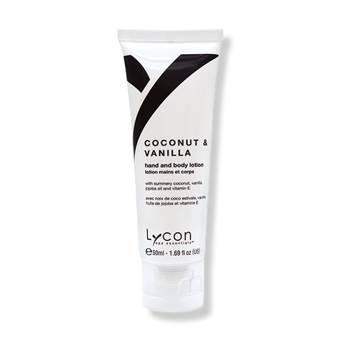 LYCON Hand & Body Lotion Coconut & Vanilla - 50ml