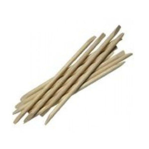 Double Ended Bevel Wood Sticks - 25pk