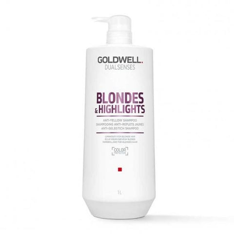 Goldwell Dual Senses Blondes & Highlights Anti Yellow Shampoo 1 Litre