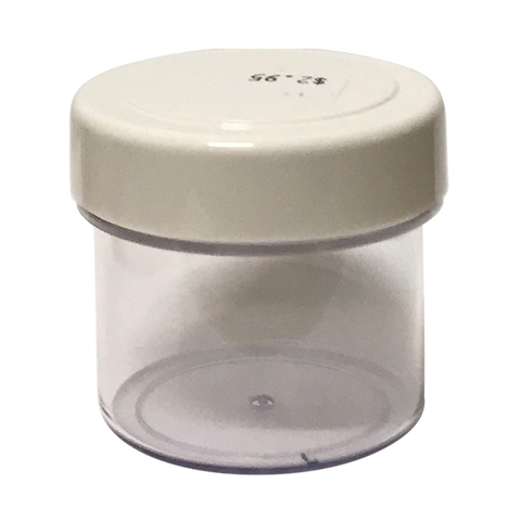 Plastic Twist Lid with Seal Jar 80gm
