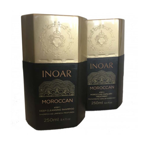 Inoar Moroccan Hair Straightening Kit
