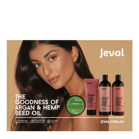 Jeval The Goodness of Argan & Hemp Seed Oil Pack