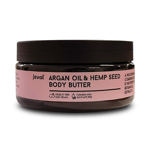 Jeval Argan Oil & Hemp Seed Body Butter 235ml
