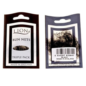 Lion Bun Net 3pk Black