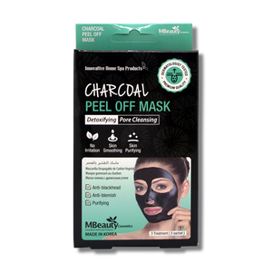 MBeauty Charcoal Peel Off Mask-MBeauty Cosmetics-Beautopia Hair & Beauty