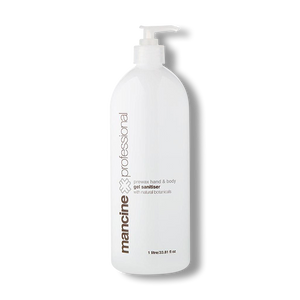 Mancine Pre Wax Hand & Body Gel Sanitiser - 1L-Mancine Professional-Beautopia Hair & Beauty