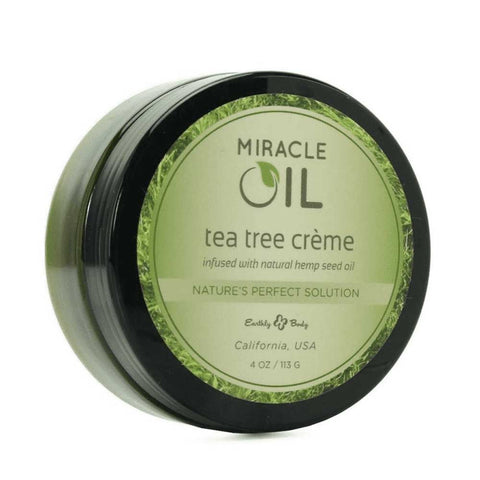 Earthly Body Miracle Oil Tea Tree Skin Cream