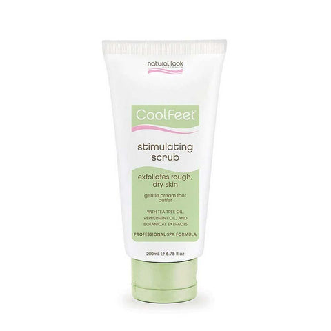 Natural Look Cool Feet Stimulating Scrub 200g
