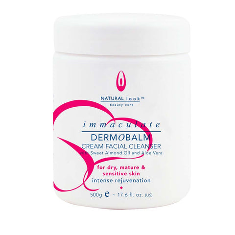 Natural Look Immaculate Dermobalm Cream Cleanser 500ml