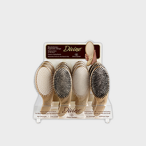 Olivia Garden Divine Detangler Collection 12pc Stand