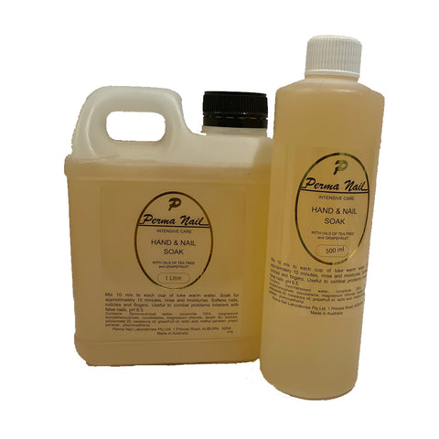 Perma Hand/Nail Soak with Tea Tree 500ml