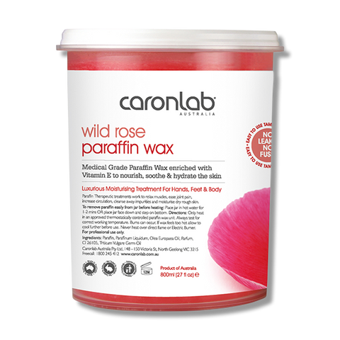 Caronlab Parrafin Wax Rose 800ml