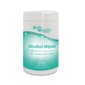 Pure Beauty Alcohol Wipes 160 pack