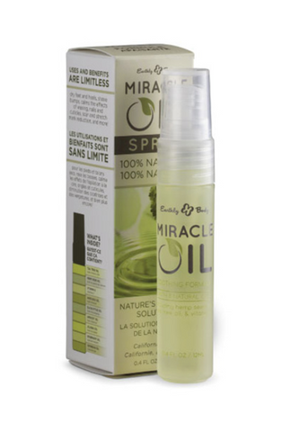 Earthly Body Miracle Oil Tea Tree On The Go Spray 30ml