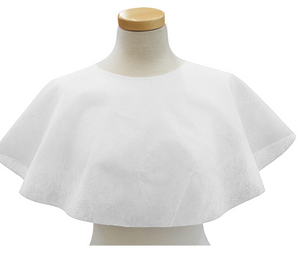 Makeup Cape - White